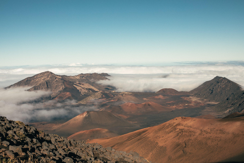 Haleakala Crater View