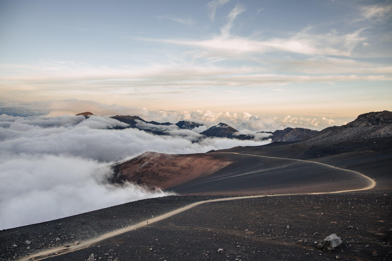 Haleakala Crater Hiking Trail